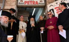 Des églises protestent contre l'acquisition de biens par des colons israéliens