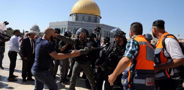 JÉRUSALEM : TENSIONS RELIGIEUSES SUR L'ESPLANADE DES MOSQUÉES