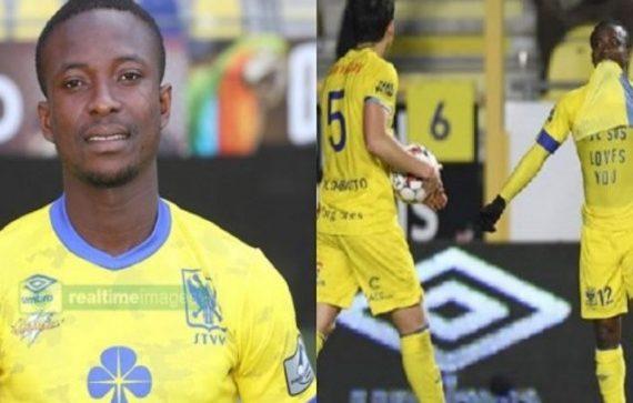 FOOTBALL : UN JOUEUR EXPULSÉ A CAUSE DE L'INSCRIPTION ''JÉSUS T'AIME'' SUR SON MAILLOT