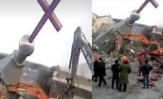 CORONAVIRUS : LA CHINE DÉMOLIT UNE ÉGLISE ALORS QUE LES CHRÉTIENS ADORENT CHEZ EUX.