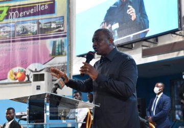 COTE D'IVOIRE/ HAMED BAKAYOKO DEMANDE A LA COMMUNAUTE  EVANGELIQUE DE PRIER POUR LA PAIX