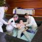ANGLETERRE/ EN PLEIN CONFINEMENT, DES POLICIERS TENTENT D'EMPECHER UN SERVICE DE BAPTEME DANS UNE EGLISE DE LONDRES