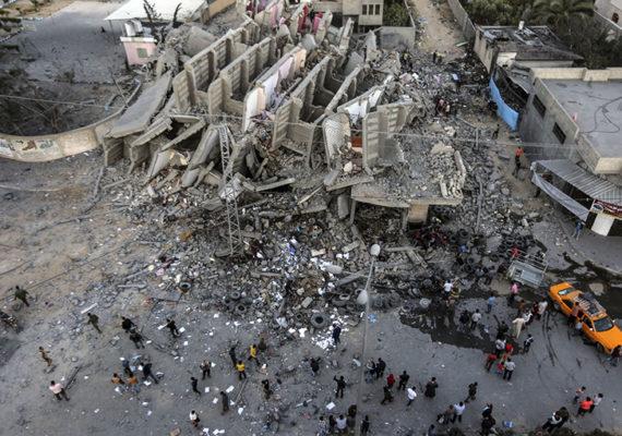 Conflit israélo-palestinien / Les Églises évangéliques des Etats unis ont organisé une prière mondiale pour la paix au Moyen-Orient