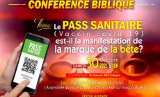Participez à la conférence biblique du samedi 30 octobre 2020